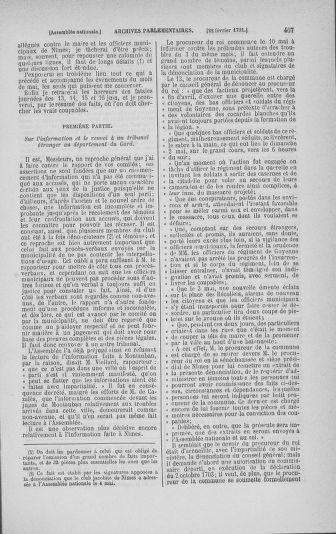 Tome 23 : Du 6 février au 9 mars 1791 - page 407