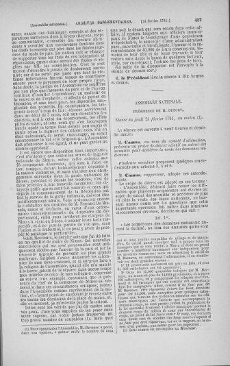 Tome 23 : Du 6 février au 9 mars 1791 - page 487