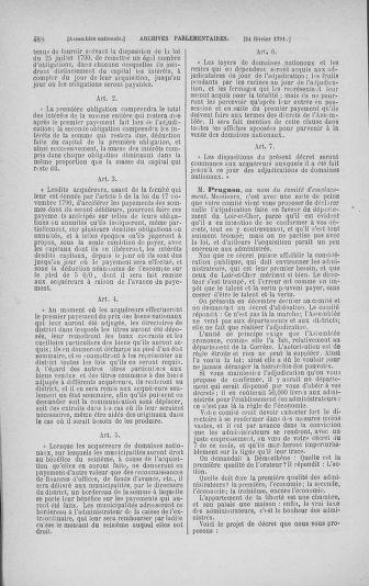 Tome 23 : Du 6 février au 9 mars 1791 - page 488