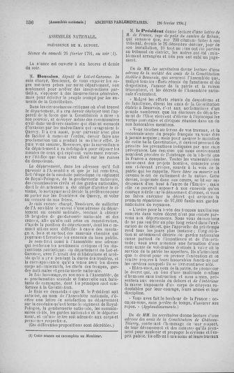 Tome 23 : Du 6 février au 9 mars 1791 - page 536