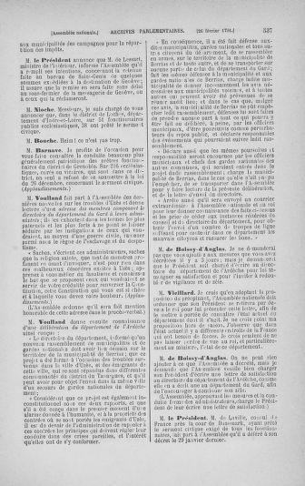 Tome 23 : Du 6 février au 9 mars 1791 - page 537