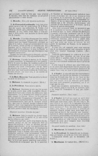 Tome 23 : Du 6 février au 9 mars 1791 - page 582