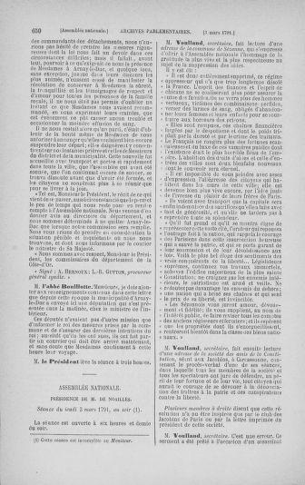 Tome 23 : Du 6 février au 9 mars 1791 - page 650