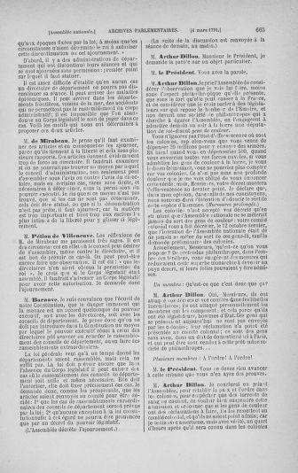 Tome 23 : Du 6 février au 9 mars 1791 - page 665