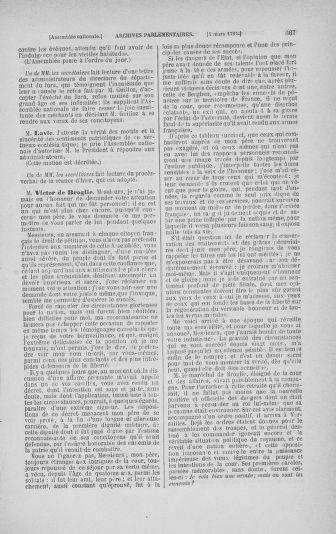 Tome 23 : Du 6 février au 9 mars 1791 - page 667