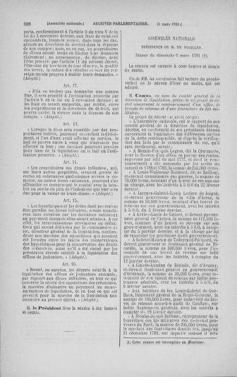 Tome 23 : Du 6 février au 9 mars 1791 - page 698