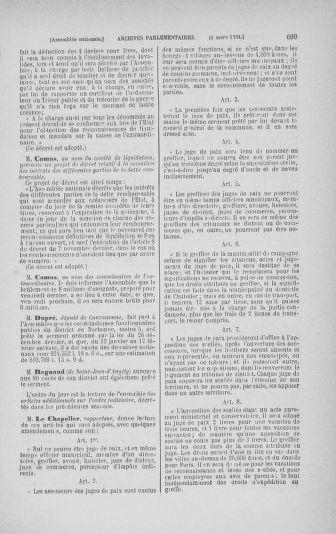 Tome 23 : Du 6 février au 9 mars 1791 - page 699