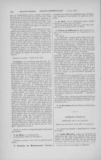 Tome 23 : Du 6 février au 9 mars 1791 - page 740