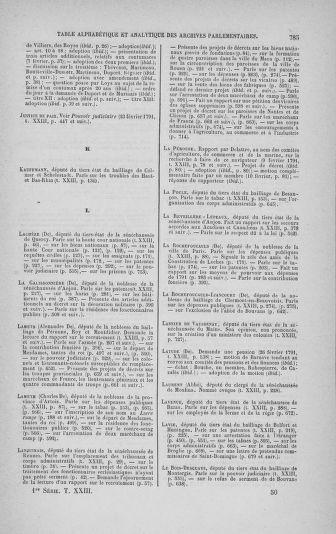 Tome 23 : Du 6 février au 9 mars 1791 - page 785