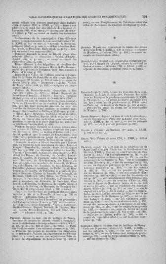 Tome 23 : Du 6 février au 9 mars 1791 - page 791