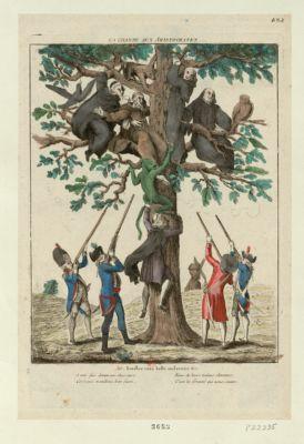 La  Chasse aux aristocrates [estampe]
