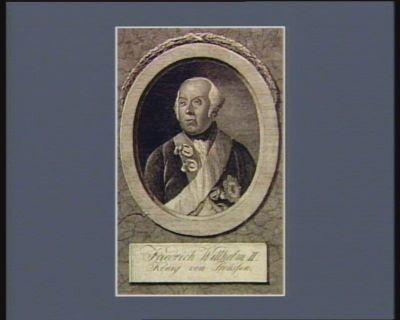Friedrich Wilhelm II König von Preussen : [estampe]