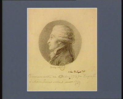 Bonnemant né à Arles le 3 sept.bre 1747 député de la même ville en 1789 : [dessin]