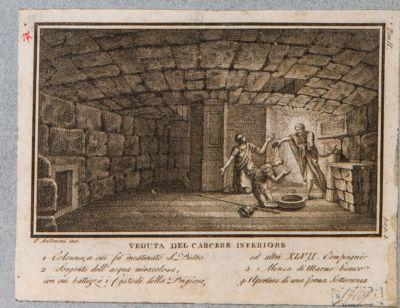Carcere Mamertino, veduta del carcere inferiore