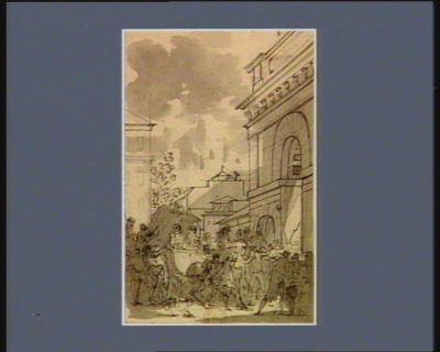 [Deuxième événement du vingt-trois juillet 1789] [dessin]