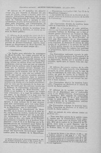 Tome 69 : Du 15 au 29 juillet 1793 - page 5