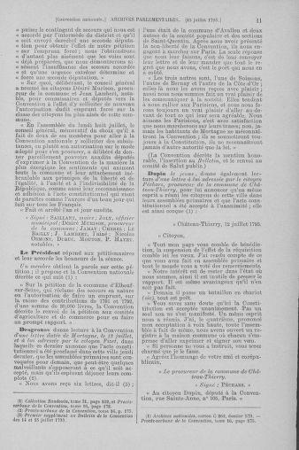 Tome 69 : Du 15 au 29 juillet 1793 - page 11