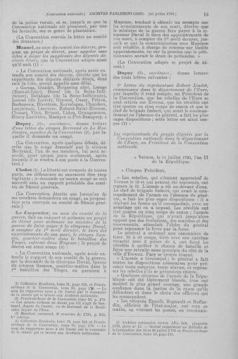 Tome 69 : Du 15 au 29 juillet 1793 - page 15