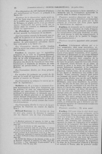 Tome 69 : Du 15 au 29 juillet 1793 - page 18