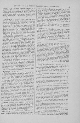 Tome 69 : Du 15 au 29 juillet 1793 - page 19