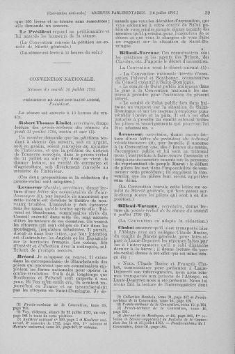 Tome 69 : Du 15 au 29 juillet 1793 - page 39