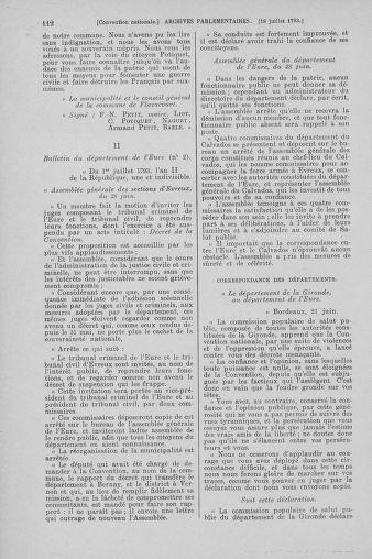 Tome 69 : Du 15 au 29 juillet 1793 - page 112