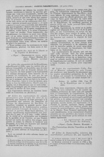 Tome 69 : Du 15 au 29 juillet 1793 - page 123