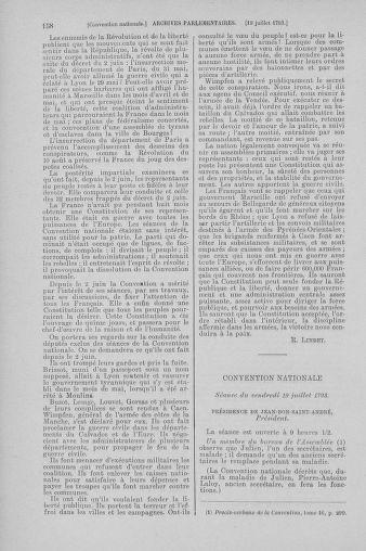 Tome 69 : Du 15 au 29 juillet 1793 - page 158