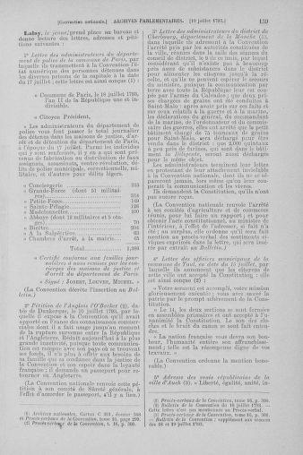 Tome 69 : Du 15 au 29 juillet 1793 - page 159