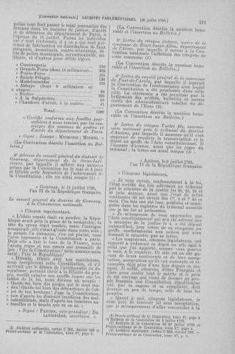 Tome 69 : Du 15 au 29 juillet 1793 - page 211