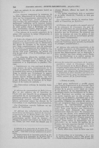 Tome 69 : Du 15 au 29 juillet 1793 - page 346