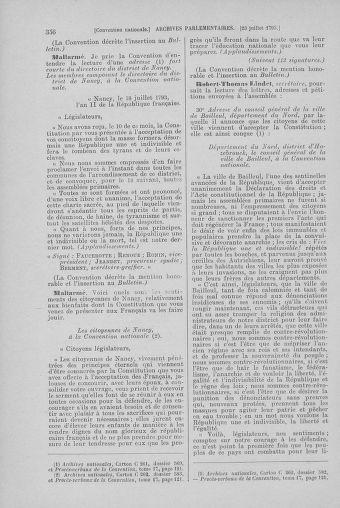 Tome 69 : Du 15 au 29 juillet 1793 - page 356