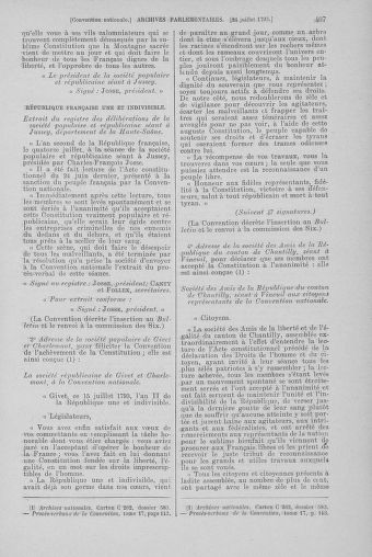 Tome 69 : Du 15 au 29 juillet 1793 - page 407