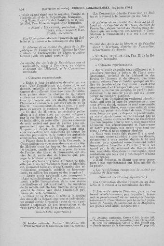 Tome 69 : Du 15 au 29 juillet 1793 - page 408