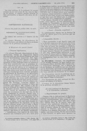Tome 69 : Du 15 au 29 juillet 1793 - page 519