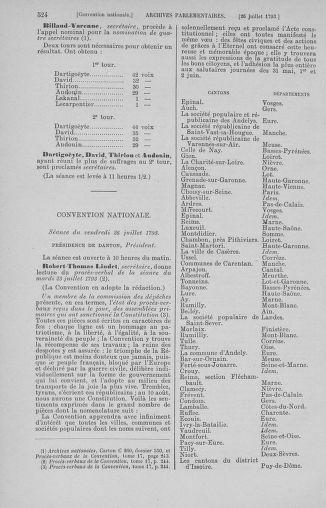 Tome 69 : Du 15 au 29 juillet 1793 - page 524