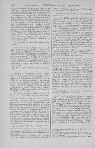 Tome 69 : Du 15 au 29 juillet 1793 - page 526