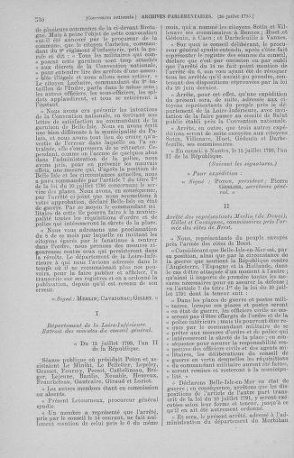 Tome 69 : Du 15 au 29 juillet 1793 - page 530