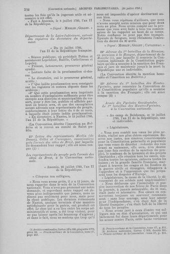 Tome 69 : Du 15 au 29 juillet 1793 - page 532