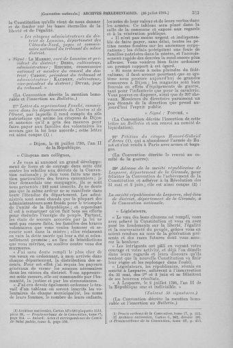 Tome 69 : Du 15 au 29 juillet 1793 - page 535