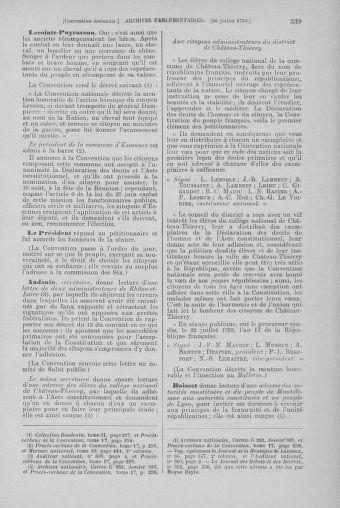 Tome 69 : Du 15 au 29 juillet 1793 - page 539