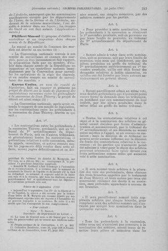 Tome 69 : Du 15 au 29 juillet 1793 - page 543