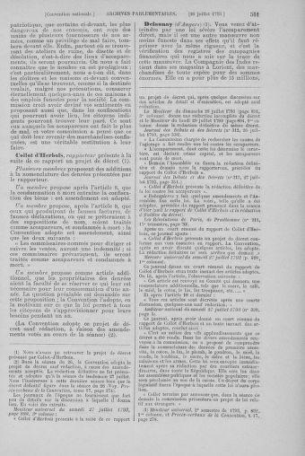 Tome 69 : Du 15 au 29 juillet 1793 - page 551