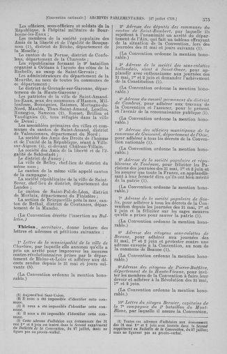 Tome 69 : Du 15 au 29 juillet 1793 - page 575