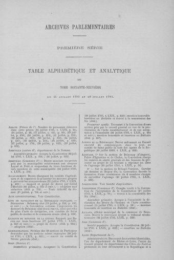 Tome 69 : Du 15 au 29 juillet 1793 - page ..