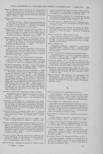 Tome 69 : Du 15 au 29 juillet 1793 - page 769