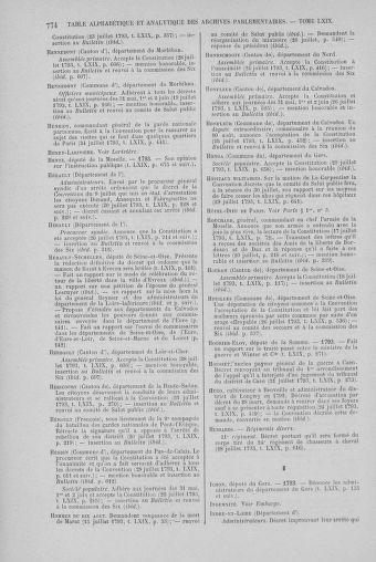 Tome 69 : Du 15 au 29 juillet 1793 - page 774