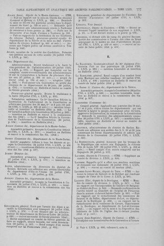 Tome 69 : Du 15 au 29 juillet 1793 - page 777