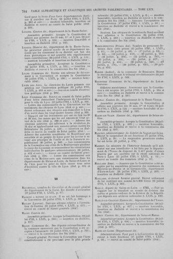 Tome 69 : Du 15 au 29 juillet 1793 - page 784