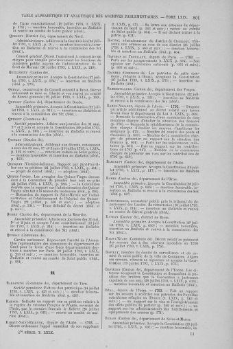Tome 69 : Du 15 au 29 juillet 1793 - page 801